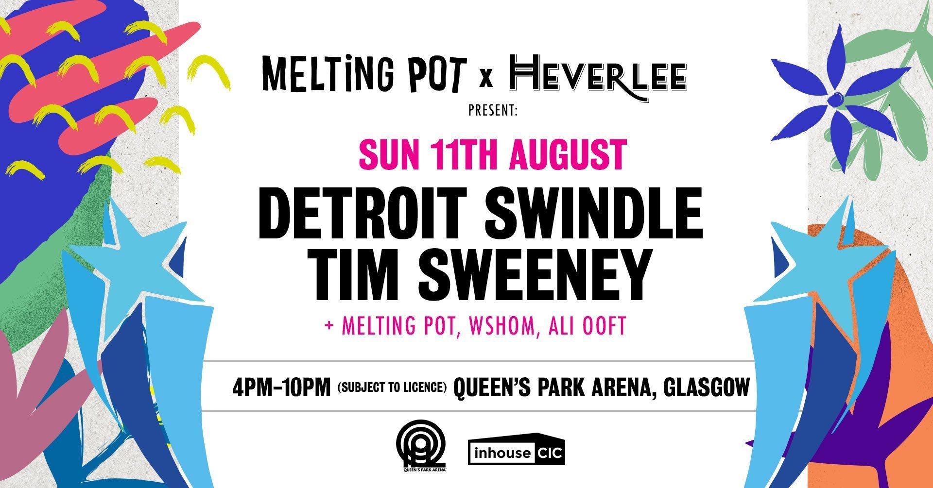 """Detroit Swindle, Tim Sweeney x Melting Pot - """"Beats in Space"""""""